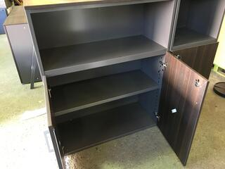 1250mm high wenge cupboard