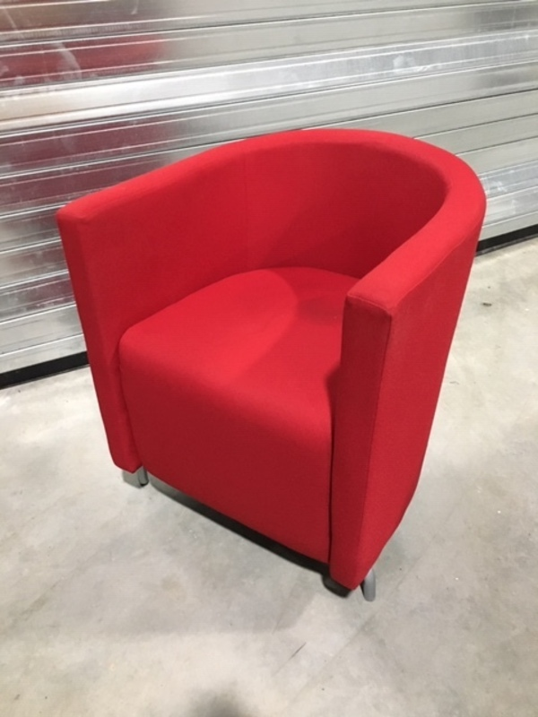 additional images for Red Boss Design Midi tub chair