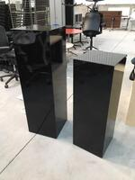 additional images for High gloss black presentation stands