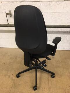 Black Posturite Positiv U600 Ind Task Chair