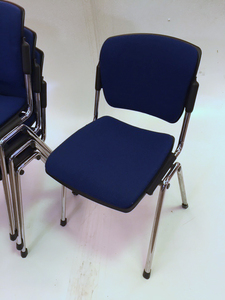 additional images for Blue Torasen Maximus stacking chairs