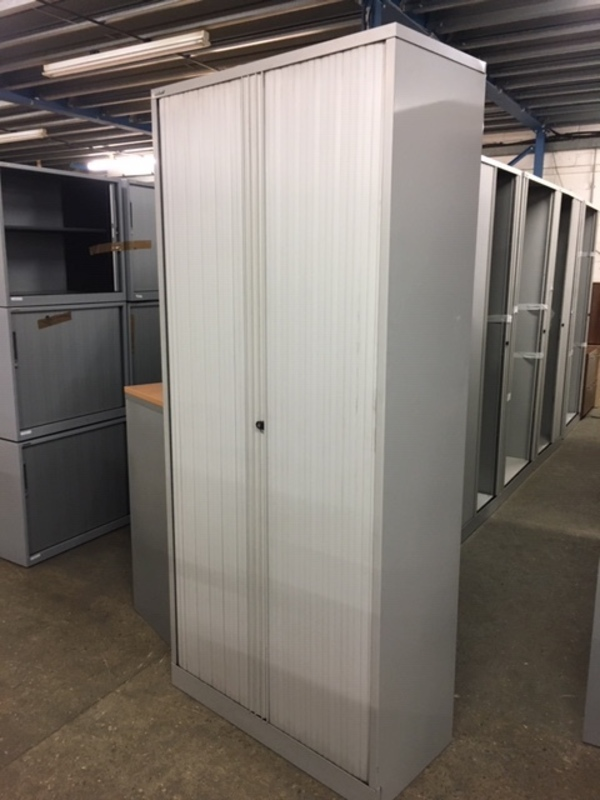 additional images for 2230mm high Bisley grey tambour