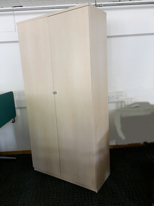 additional images for 2000mm high FFC maple double door cupboards