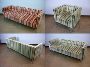 additional images for Morgan Furniture Ribb sofas and armchairs, from