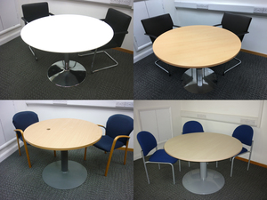 additional images for Selection of circular tables and bases