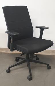 additional images for Mobili Nero Black Task Chair