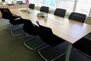 additional images for 3200x1000mm highland oak Senator Cameleon table