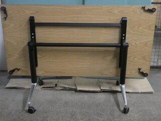 Oak flip top table 1600w