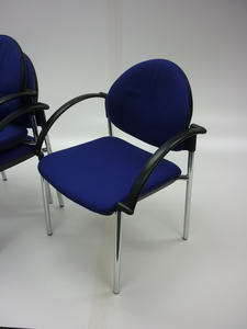 additional images for Blue Verco Focus meeting chairs