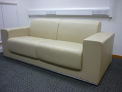 additional images for 2 seater leather sofa (CE)