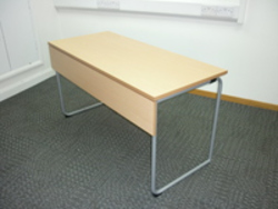 additional images for 1350 x 600mm Idre folding table/desk