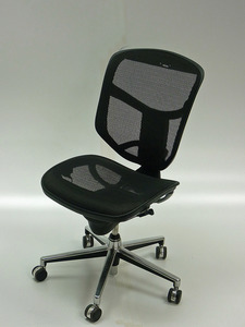 additional images for Black mesh task chair (CE)