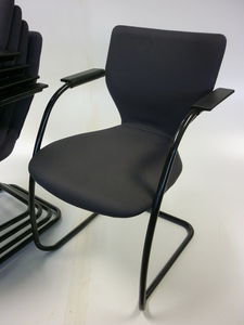 additional images for Grey Orangebox X10 stackable meeting chairs