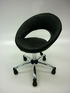 additional images for Funky faux leather meeting chairs