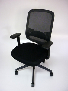 additional images for Black Orangebox DO mesh back task chair CE