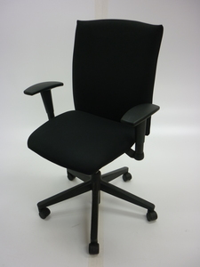 additional images for Haworth Comforto BL black task chairs