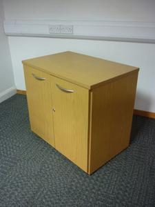 additional images for Desk high Sven light oak cupboards