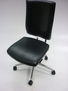 additional images for Brown leather Boss Sona task chair
