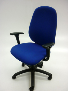 additional images for Blue 3 lever task chair