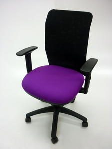 additional images for Pledge AIR purple/mesh task chair