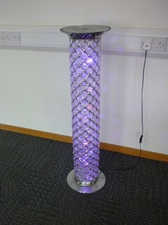 floor standing coloured lighting