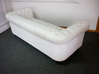 3 seater Chesterfield style sofa