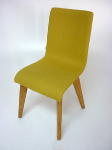 additional images for Frovi Jig lime green meeting/dining chair