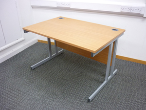 additional images for 1200x800mm beech Gresham desks
