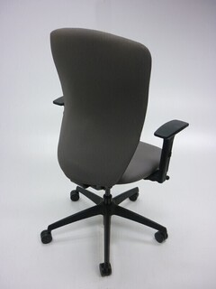 Light grey Komac Move task chairs