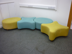 additional images for Hitch Mylius blue and yellow OXO seating