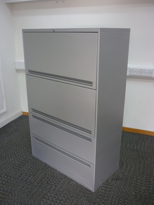 additional images for Office Speciality 1440mm high silver combi unit