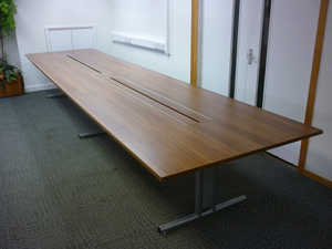 additional images for 5000x1200mm walnut Sven Ambus boardroom table