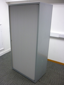 additional images for Bisley 1660mm high silver side tambour