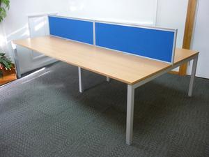 additional images for Senator beech 1400x800mm bench desks, per user -