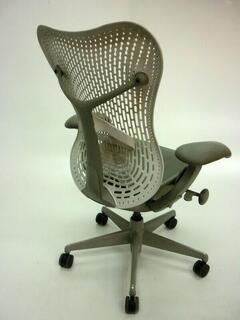 Herman Miller Mirra whitegrey task chair