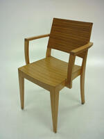 additional images for Bamboo 4 leg cafe chairs