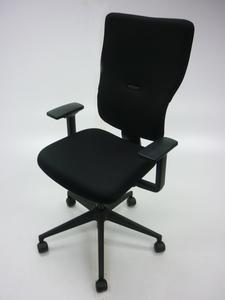 additional images for Black Steelcase Let's B v2 task chair