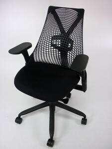 additional images for Herman Miller black Sayl chair