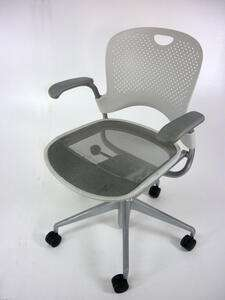 additional images for Herman Miller Caper white task chair
