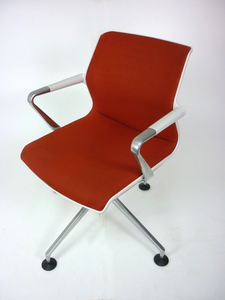 additional images for Vitra Unix red conference chair