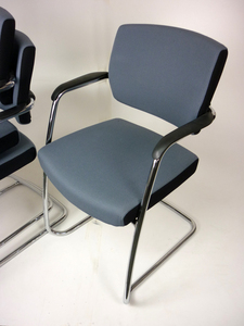 additional images for Senator Freeflex grey visitor chair