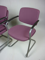 additional images for Connection light purple stacking chairs
