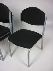 additional images for Charcoal stacking chairs