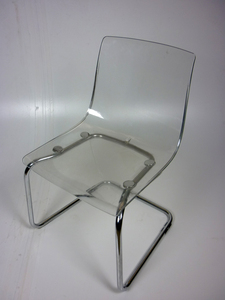 additional images for Clear perspex cafe chairs