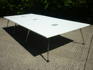 additional images for 4200x1800mm white Orangebox Pars table
