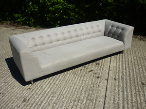 additional images for SCP Lansdowne light grey 3 seater sofa
