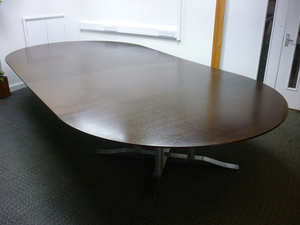 additional images for 4200x2100mm Luke Hughes walnut veneer table
