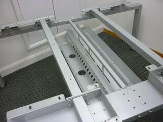 Senator Freeway 1200x800mm grey bench desks