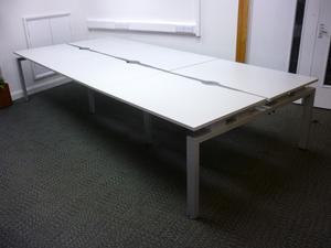 additional images for Senator Freeway 1200x800mm grey bench desks
