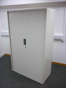 additional images for 1650mm high cream Bisley tambour cupboards